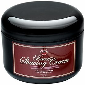 J & D's Bacon Shaving Cream