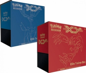 Pokemon Card Game Set of Both X & Y Elite Trainer Boxes [Yveltal & Xerneas] New Hot!