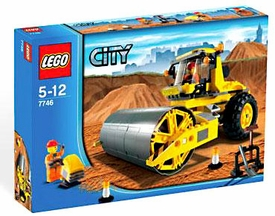 LEGO City Exclusive Set #7746 Single Drum Roller