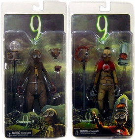 NECA 9 [Nine] Movie Set of Both Action Figures [Characters 1 & 9]