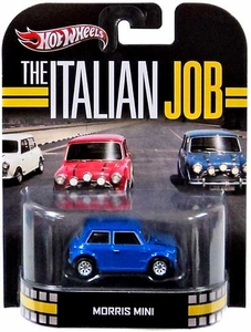Hot Wheels Retro The Italian Job 1:55 Die Cast Car Morris Mini