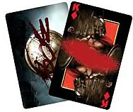 NECA Frank Miller's 300 Movie Playing Cards