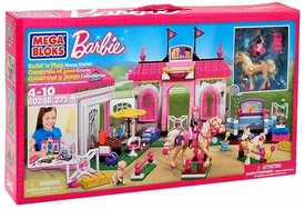 Barbie Mega Bloks Set #80246 Horse Stable
