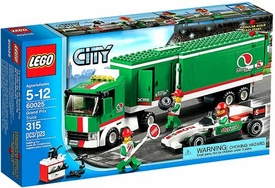 LEGO City Set #60025 Grand Prix Truck