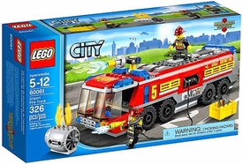LEGO City Set #60061 Airport Fire Truck