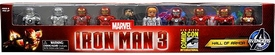 Marvel Minimates 2013 SDCC San Diego Comic Con Exclusive Mini Figure 10-Pack Iron Man 3 Hall of Armor