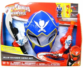 Power Rangers Super Megaforce Hero Set Blue Ranger