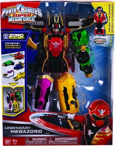 Power Rangers Super Megaforce Deluxe Action Figure Legendary Megazord