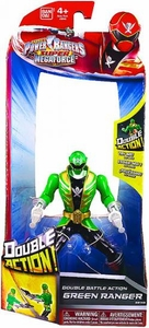 Power Rangers Super Megaforce Double Battle Action Figure Green Ranger