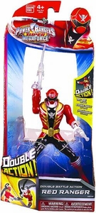 Power Rangers Super Megaforce Double Battle Action Figure Red Ranger