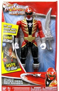 Power Rangers Super Megaforce Deluxe FX Action Figure Super Mega Red Ranger