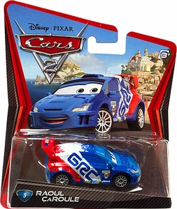 Disney / Pixar CARS 2 Movie 1:55 Die Cast Car #9 Raoul Caroule