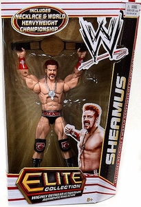 Mattel WWE Wrestling Elite Series 17 Action Figure Sheamus [Necklace & World Heavyweight Championship Belt!] BLOWOUT SALE!