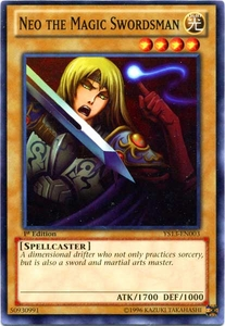 YuGiOh 2013 Super Starter: V for Victory Single Card Common YS13-EN003 Neo the Magic Swordsman