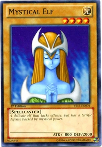 YuGiOh 2013 Super Starter: V for Victory Single Card Common YS13-EN004 Mystical Elf