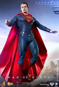 Man of Steel Hot Toys Movie Masterpiece 1/6 Scale Collectible Figure Superman
