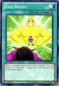 YuGiOh 2013 Super Starter: V for Victory Single Card Common YS13-EN025 Ego Boost