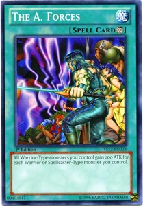 YuGiOh 2013 Super Starter: V for Victory Single Card Common YS13-EN028 A. Forces