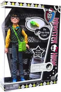 Monster High Deluxe Doll Jackson Jekyll with Pet Crossfade [Doll Stand & Diary]