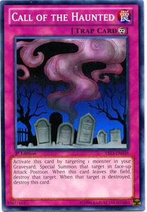 YuGiOh 2013 Super Starter: V for Victory Single Card Common YS13-EN039  Call of the Haunted
