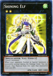 YuGiOh 2013 Super Starter: V for Victory Single Card Common YS13-ENV10  Shining Elf
