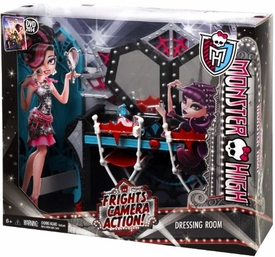 Monster High Frights, Camera, Action! Playset Dressing Room
