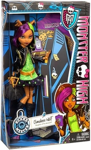 Monster High Scaremester DELUXE Doll Clawdeen Wolf