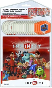 Disney Infinity EXCLUSIVE Series 2 Power Disc Set & Album