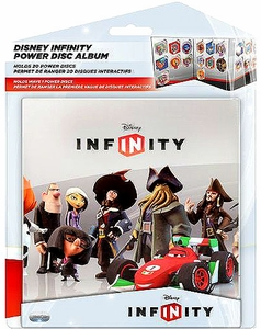 Disney Infinity Power Disc Album [Holds 20 Discs]