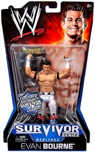 Mattel WWE Wrestling Survivor Series Heritage PPV Series 11 Action Figure Evan Bourne [Limited Edition 1 of 1000] With Survivor Series Chair!