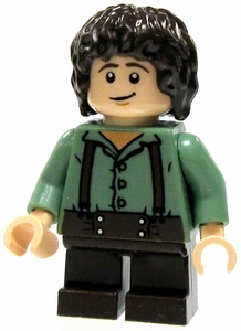 LEGO Lord of the Rings LOOSE Mini Figure Frodo [Green Shirt]