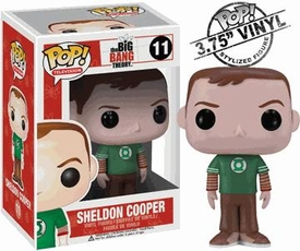 Funko POP! Big Bang Theory Vinyl Figure Sheldon Cooper [Green Lantern Shirt]
