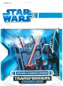 Star Wars 2009 Transformers Darth Vader to TIE Fighter