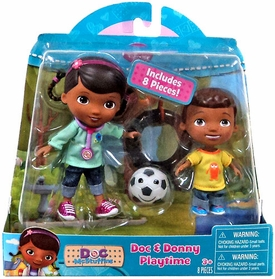 Disney Doc McStuffins Action Figure 2-Pack Doc & Donny Playtime