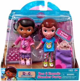 Disney Doc McStuffins Action Figure 2-Pack Doc & Emmie Playtime