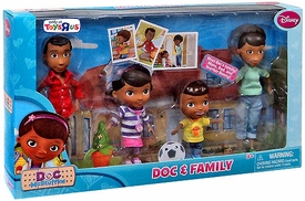 Disney Doc McStuffins Exclusive Action Figure 4-Pack Doc & Family