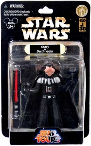 Star Wars Disney World 30th Anniversary Star Tours Action Figure Goofy as Darth Vader