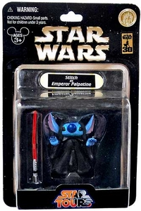 Star Wars Disney World 30th Anniversary Star Tours Action Figure Stitch as Emperor Palpatine
