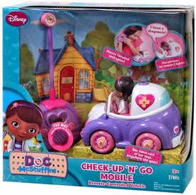 Disney Doc McStuffins RC Remote Controlled Vehicle Check-Up 'N' Go Mobile