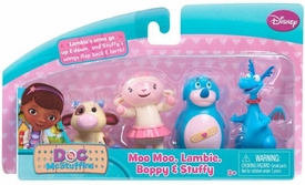 Disney Doc McStuffins Exclusive Action Figure 4-Pack Moo Moo, Lambie, Boppy & Stuffy