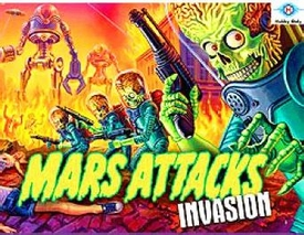 Topps Mars Attacks Invasion Trading Card BOX [24 Packs] Pre-Order ships April