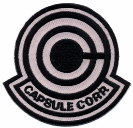 Dragon Ball Z Iron-On Capsule Corp. Logo Patch