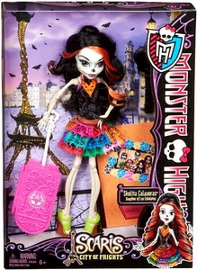 Monster High Scaris City of Frights Deluxe Doll Skelita Calaveras
