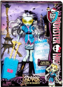 Monster High Scaris City of Frights Deluxe Doll Frankie Stein