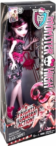 Monster High Frights, Camera, Action! BASIC Doll Black Carpet Draculaura