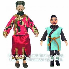 Doctor Who Bif Bang Pow! Set of Both Action Figures Li Hsen Chang & Dr Sin Pre-Order ships March