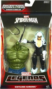 Amazing Spider-Man 2 Marvel Legends Infinite Action Figure Black Cat [Build Green Goblin Piece!]