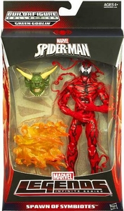 Amazing Spider-Man 2 Marvel Legends Infinite Action Figure Spawn of Symbiotes {Carnage} [Build Green Goblin Piece!]