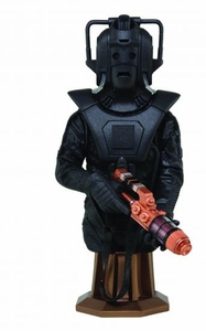 Doctor Who Maxi Bust Cyberscout Pre-Order ships April