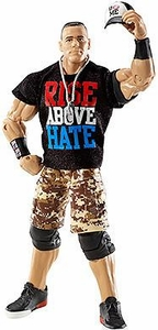 Mattel WWE Wrestling Elite Series 17 Loose Action Figure John Cena [Dog Tags, Ball Cap, Arm Band & Rise Above Hate T-Shirt!]